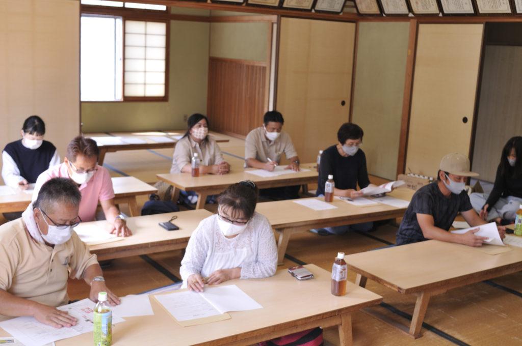 小豆島いちご部会 栽培講習会
